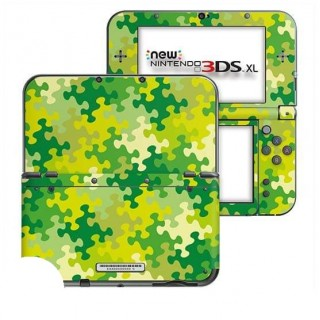 Puzzel Groen New Nintendo 3DS XL Skin