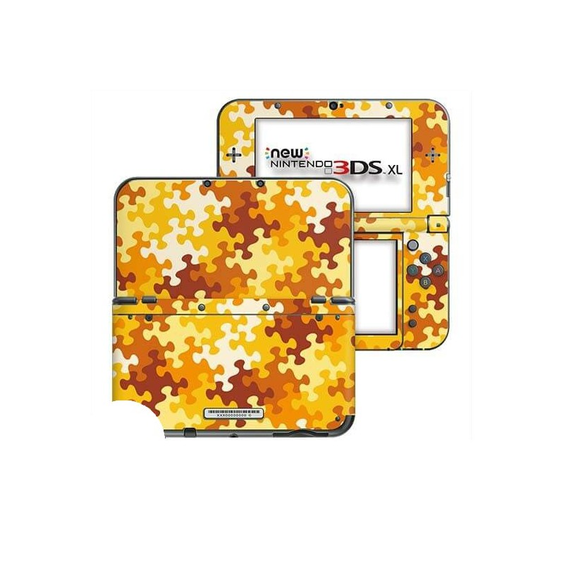 Puzzel Oranje New Nintendo 3DS XL Skin