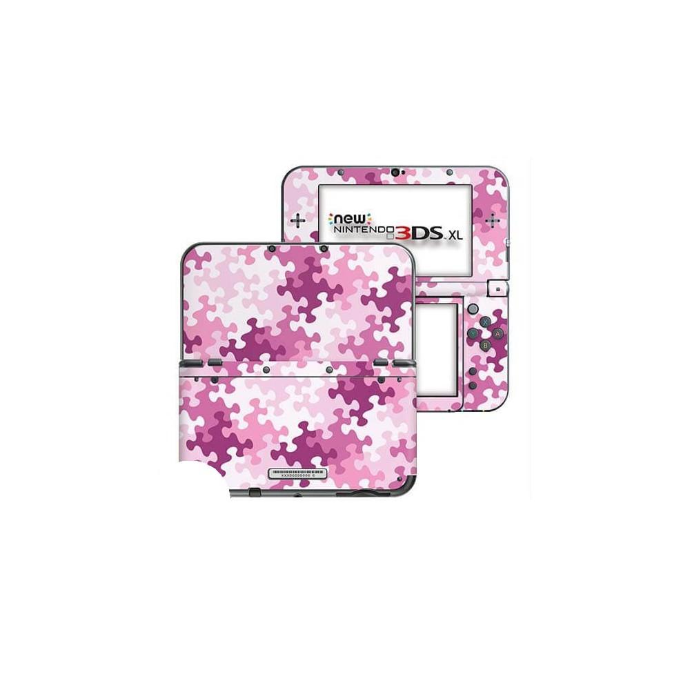 Puzzel Roze New Nintendo 3DS XL Skin