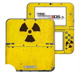 Radioactief New Nintendo 3DS XL Skin