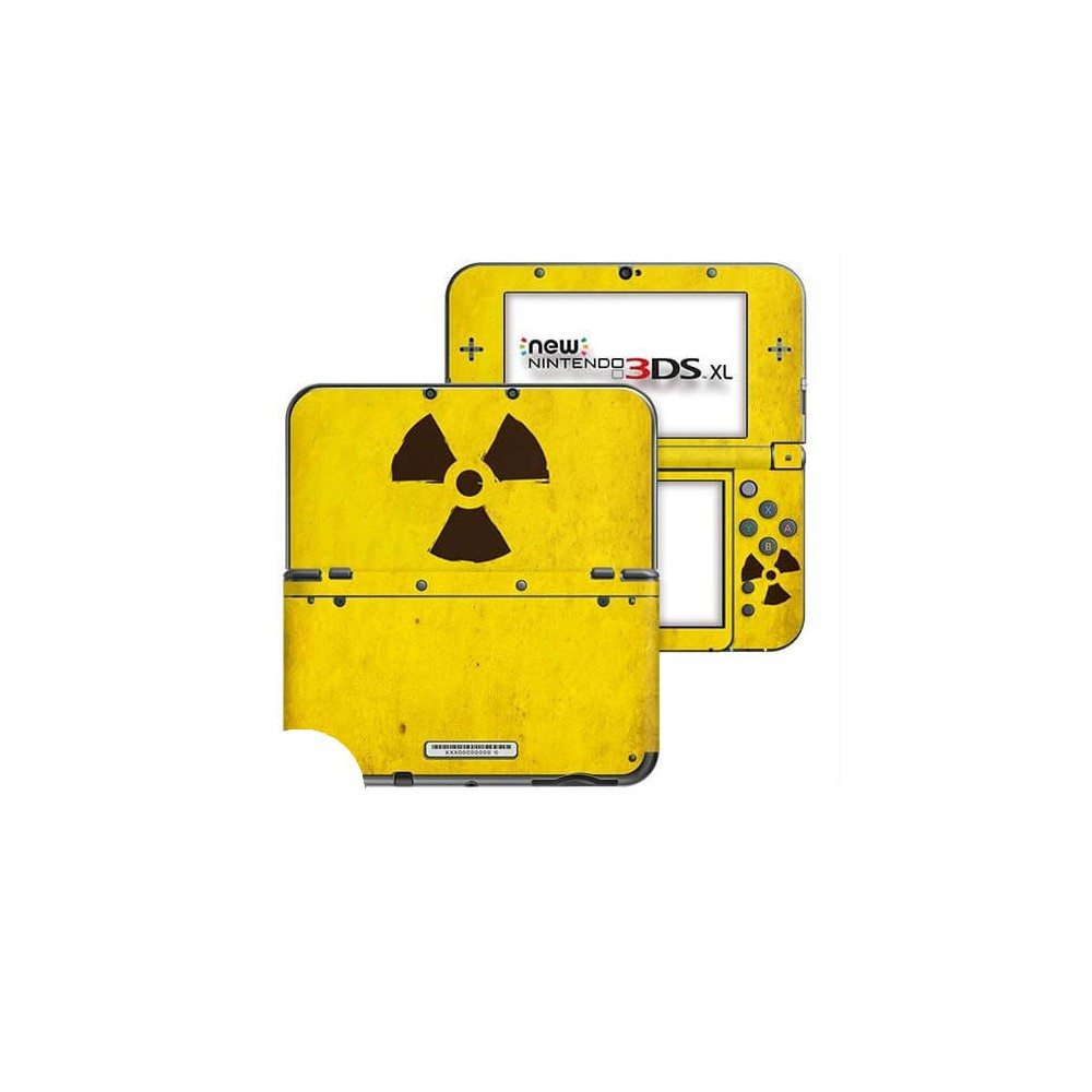 Radioactief New Nintendo 3DS XL Skin
