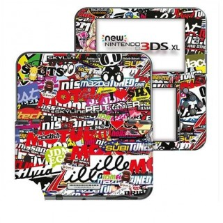 Stickerbomb New Nintendo 3DS XL Skin