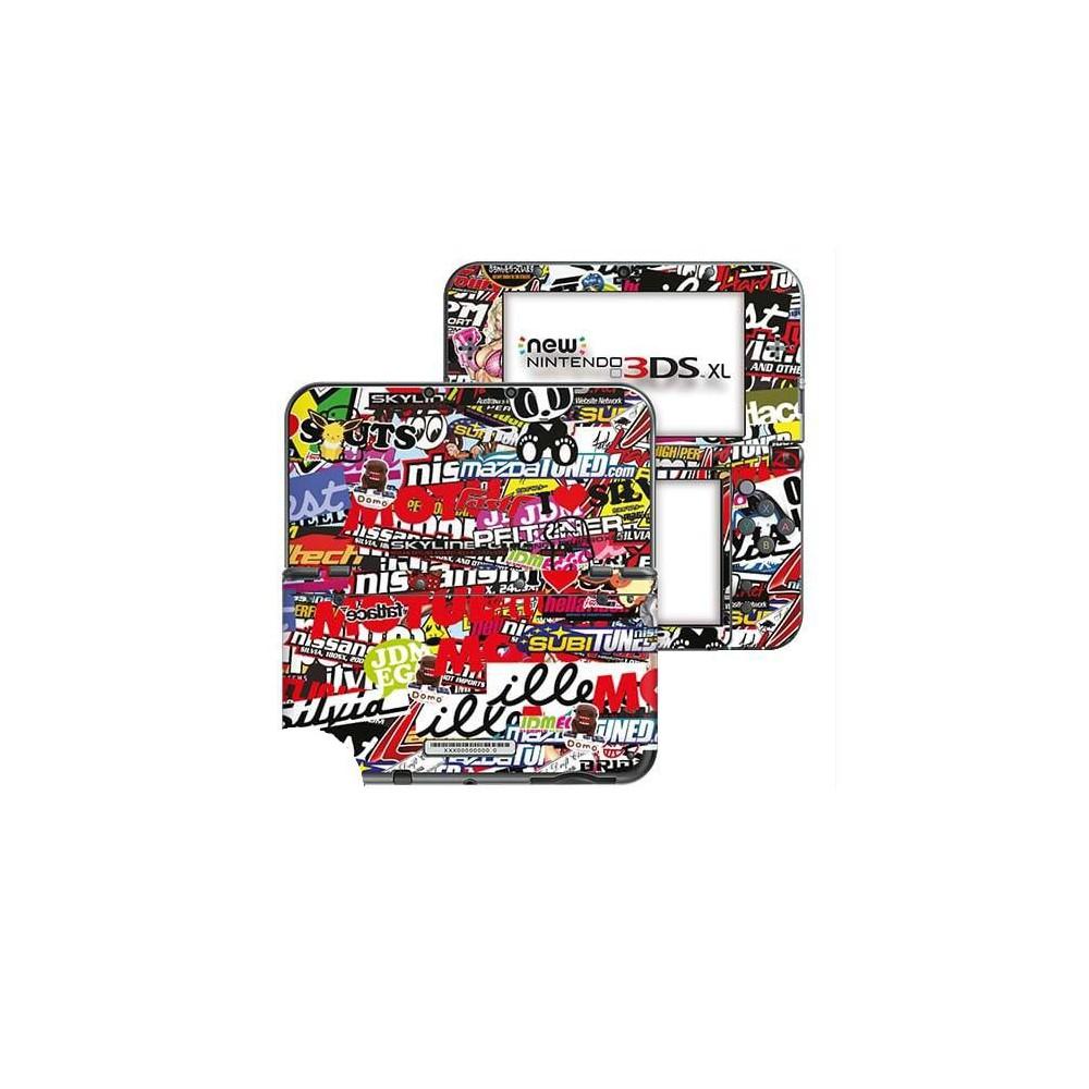 Stickerbomb New Nintendo 3DS XL Skin