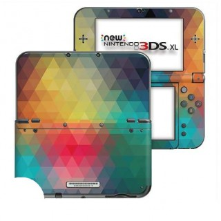 Triangles New Nintendo 3DS XL Skin