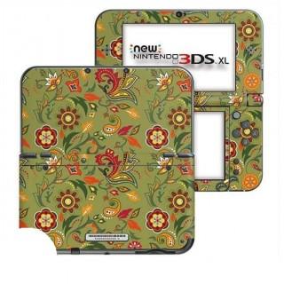 Wilde Bloemen New Nintendo 3DS XL Skin