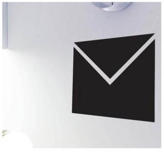 Envelop krijtbord sticker kantoor