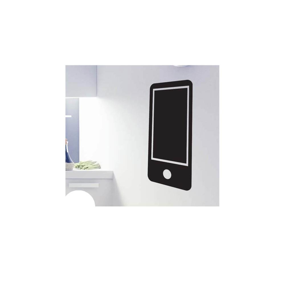 Mobiele telefoon krijtbord sticker kantoor