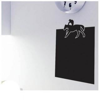 Paardrijden kader krijtbord sticker sport