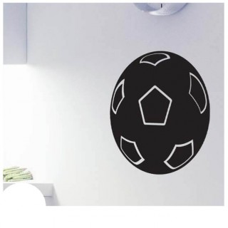 Voetbal krijtbord sticker sport