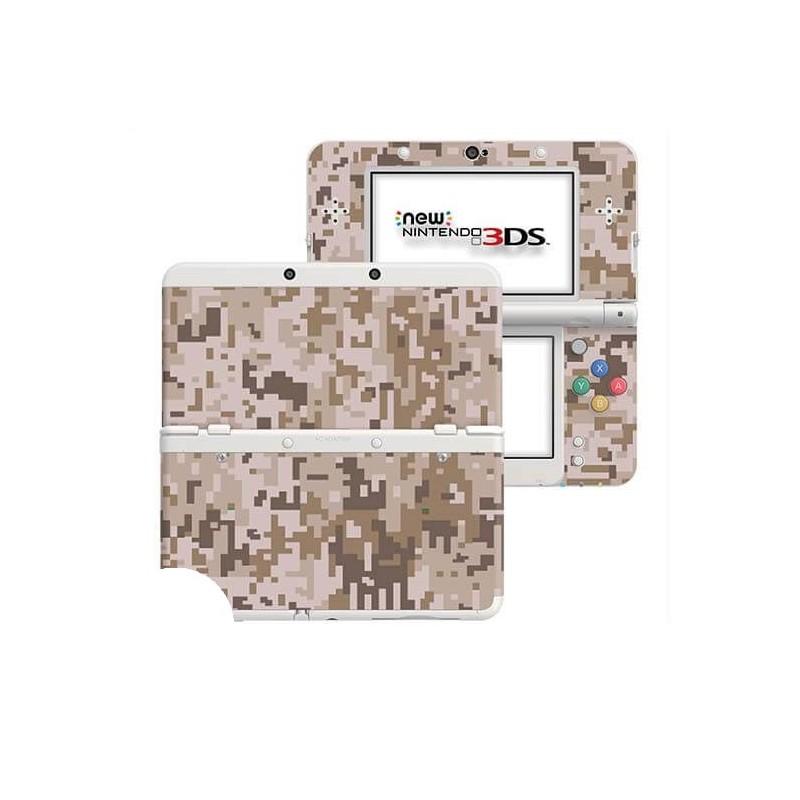 Digital Camo Desert New Nintendo 3DS Skin