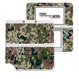 Digital Camo Forest New Nintendo 3DS Skin