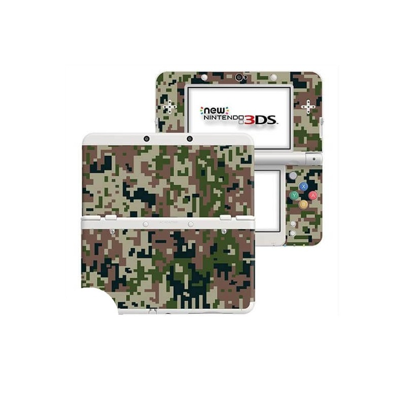 Digital Camo Forest New Nintendo 3DS Skin