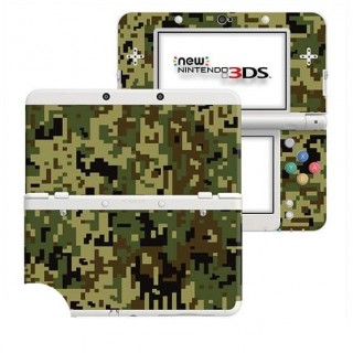 Digital Camo Jungle New Nintendo 3DS Skin