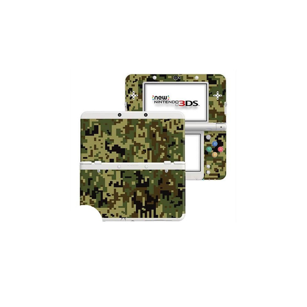 Digital Camo Jungle New Nintendo 3DS Skin