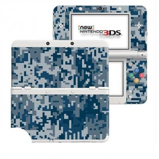 Digital Camo Rain New Nintendo 3DS Skin