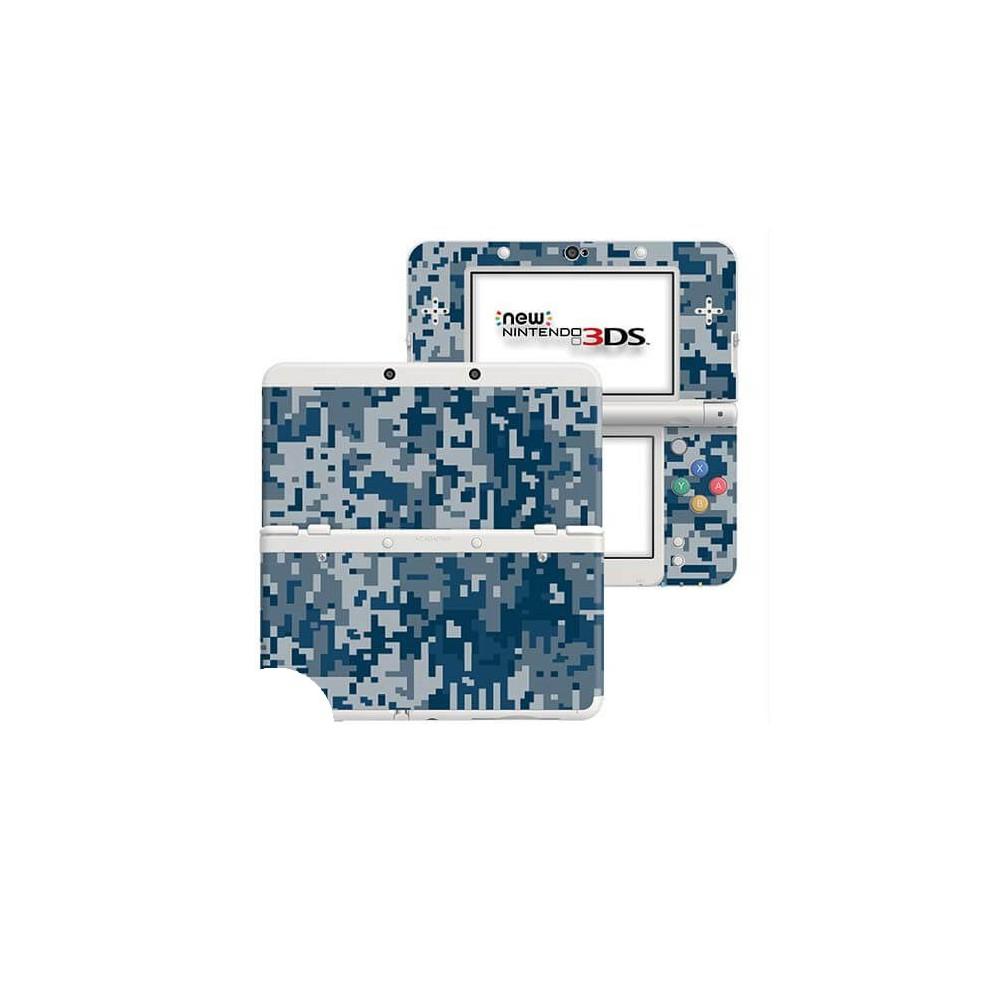 Digital Camo Rain New Nintendo 3DS Skin