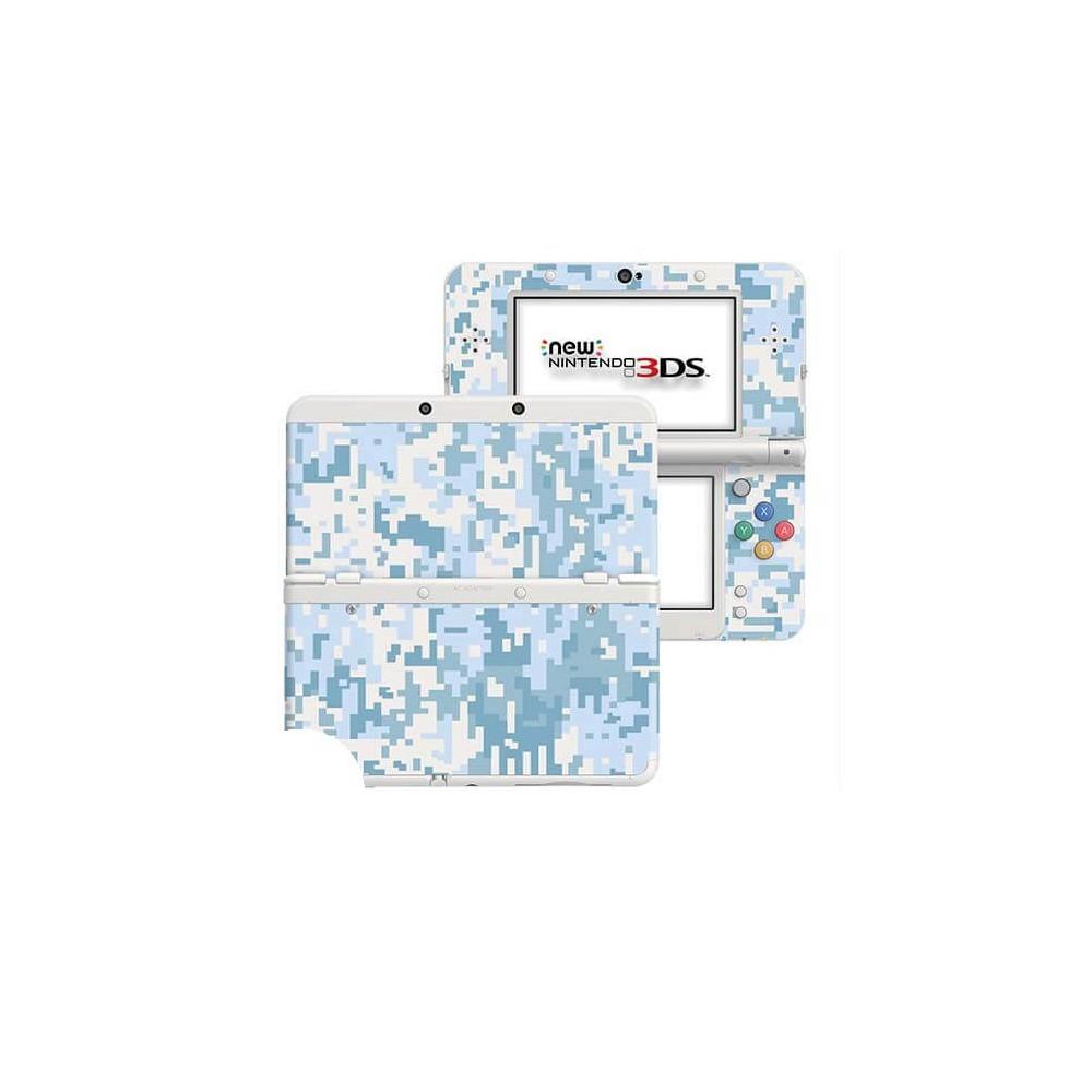 Digital Camo Snow New Nintendo 3DS Skin