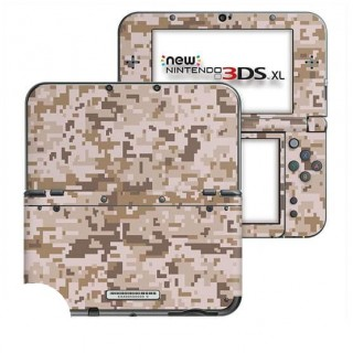 Digital Camo Desert New Nintendo 3DS XL Skin