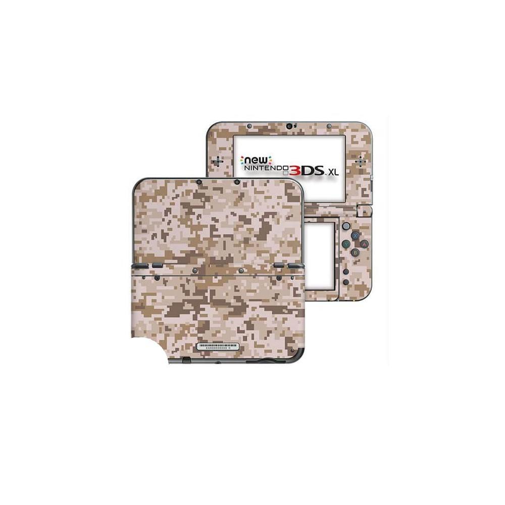 Digital Camo Desert New Nintendo 3DS XL Skin