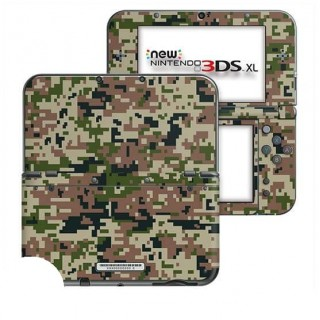 Digital Camo Forest New Nintendo 3DS XL Skin