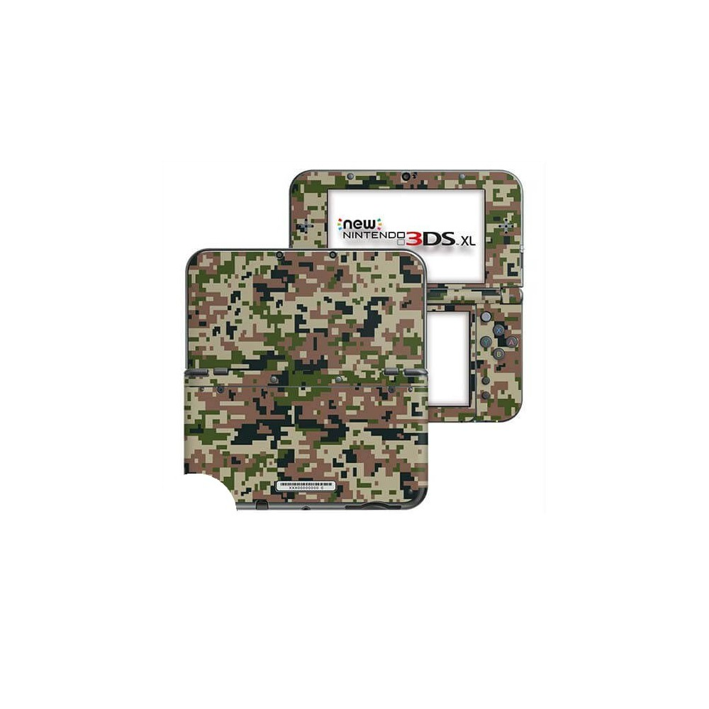 Digital Camo Forest New Nintendo 3DS XL Skin