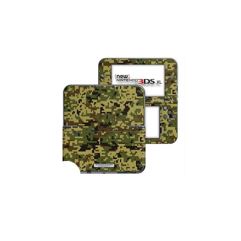 Digital Camo Jungle New Nintendo 3DS XL Skin