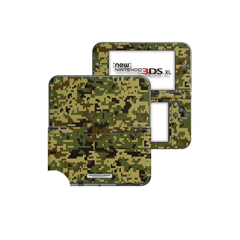 Digital Camo Jungle New Nintendo 3DS XL Skin