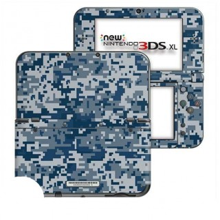 Digital Camo Rain New Nintendo 3DS XL Skin