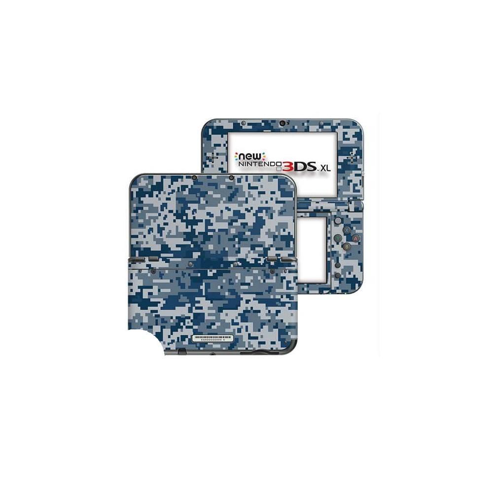 Digital Camo Rain New Nintendo 3DS XL Skin