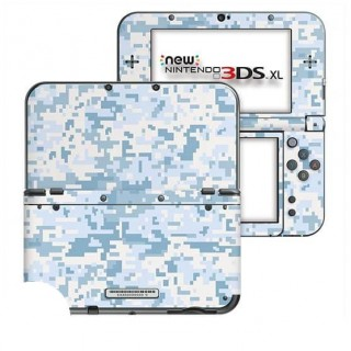Digital Camo Snow New Nintendo 3DS XL Skin