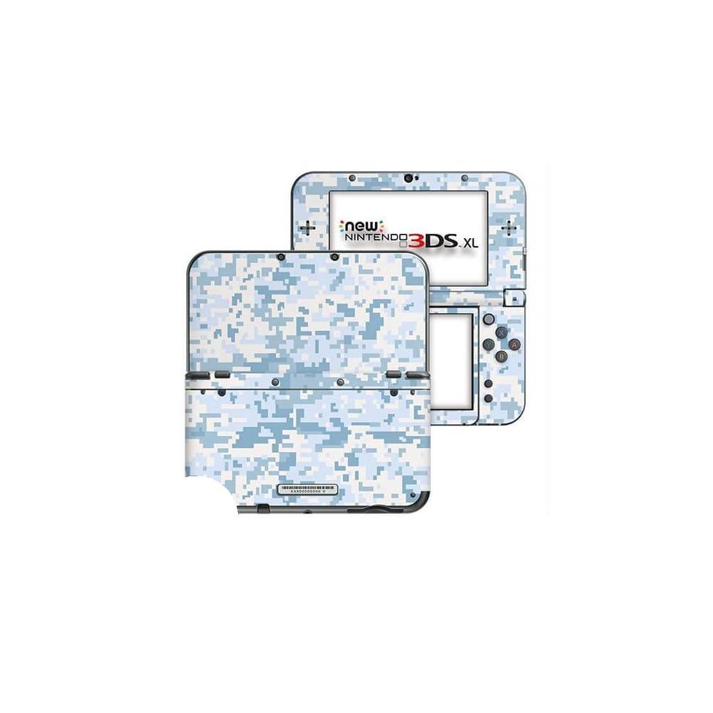 Digital Camo Snow New Nintendo 3DS XL Skin