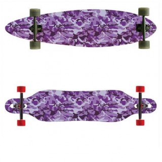Longboardsticker Camo Purple