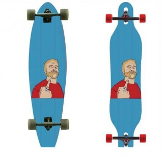 Longboardsticker Pop Art V