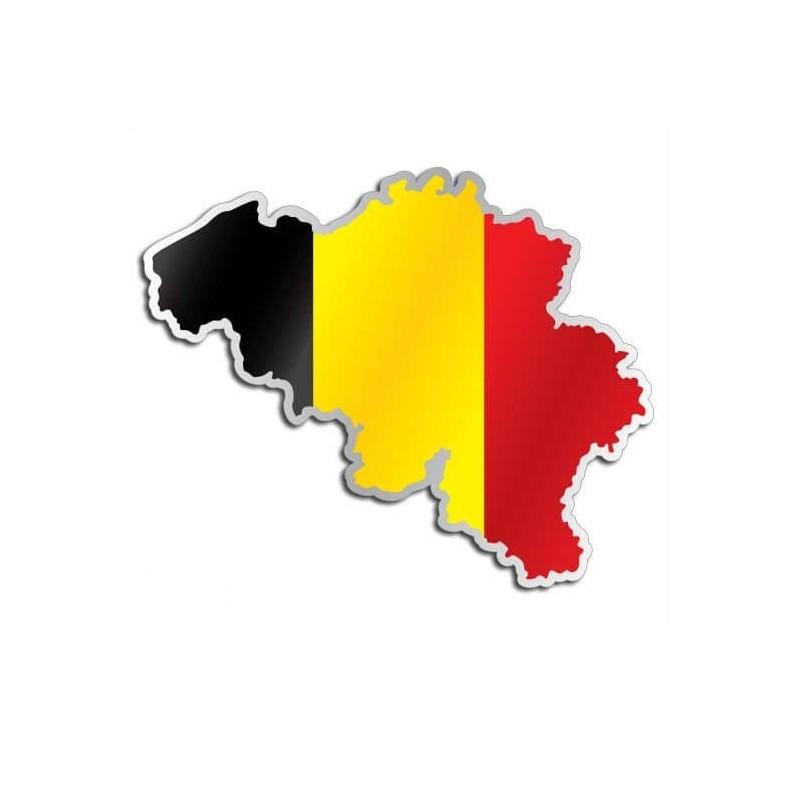 Landensticker België