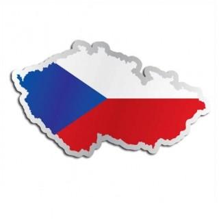 Landensticker Tsjechië