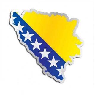 Landensticker Bosnië & Herzegovina