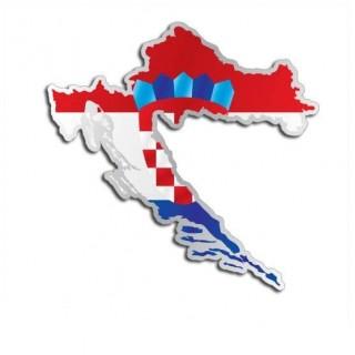 Landensticker Kroatië