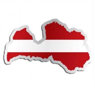 Landensticker Letland