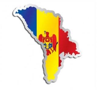 Landensticker Moldavië