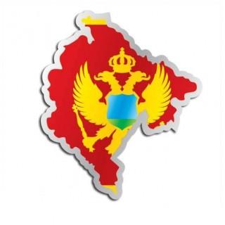 Landensticker Montenegro