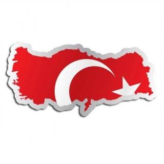 Landensticker Turkije