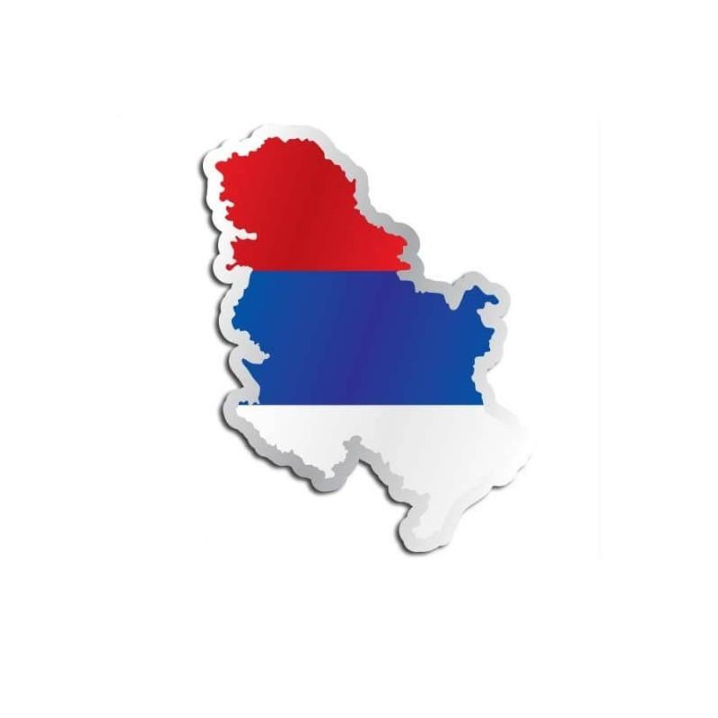 Landensticker Servië