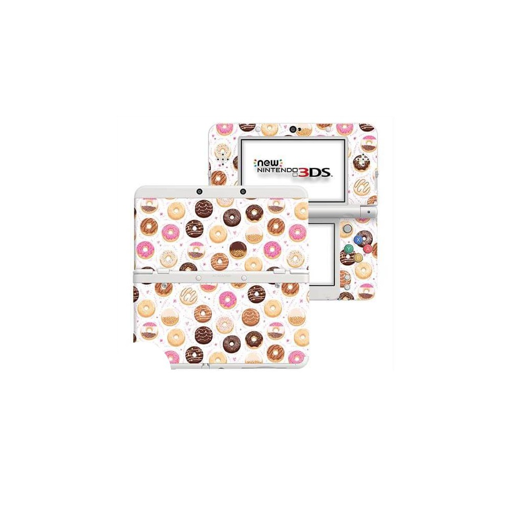 Donuts New Nintendo 3DS Skin
