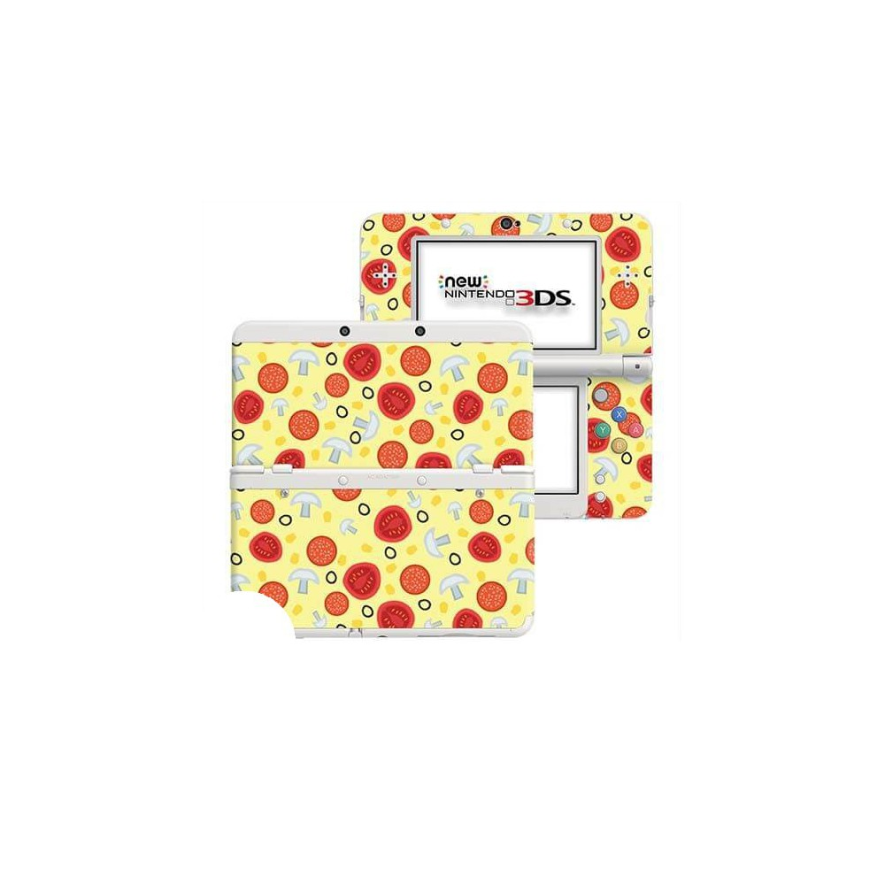 Pizza New Nintendo 3DS Skin