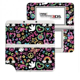 Hippie New Nintendo 3DS Skin