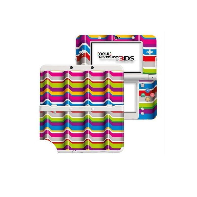 3D Strepen New Nintendo 3DS Skin