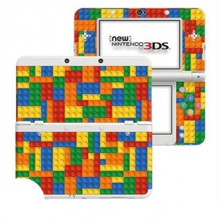 Blokjes New Nintendo 3DS Skin