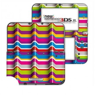 3D Strepen New Nintendo 3DS XL Skin