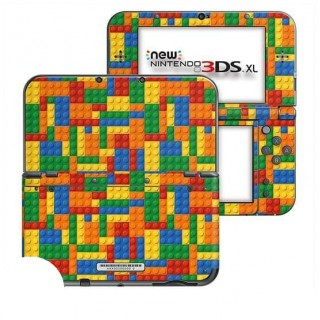 Blokjes New Nintendo 3DS XL Skin