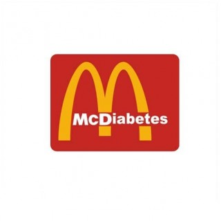 McDiabetes funny sticker